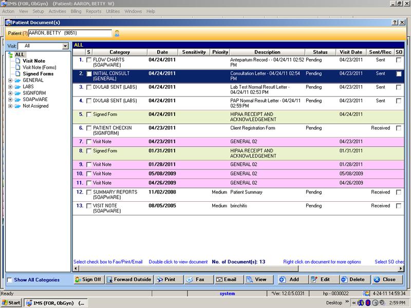 Ob Gyn Electronic Health Record Software Emr Amp Ehr