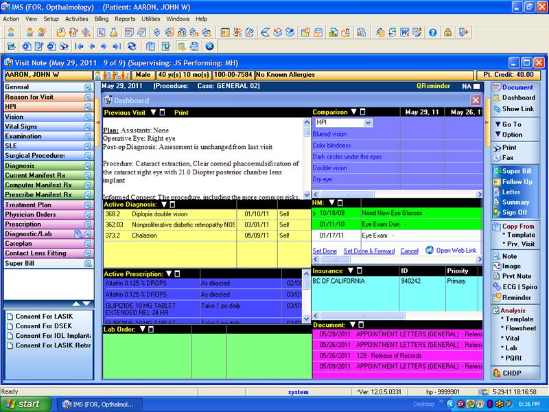 Ophthalmology Emr Software Electronic Medical Health